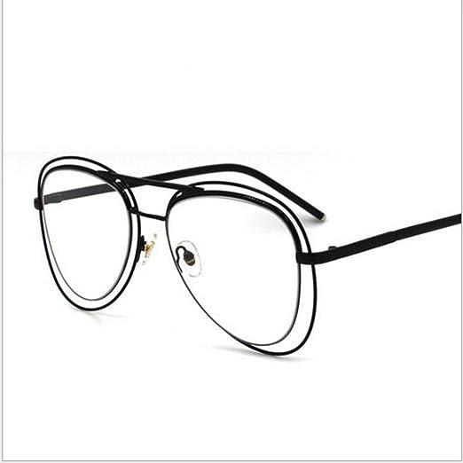 Gafas De Sol De Doble Marco Retro Sapo Gafas De Sol Hombre Y Mujer ...