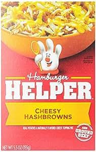 Hamburger Helper, Cheesy Hashbrown, 5.5 oz, 6 Pack