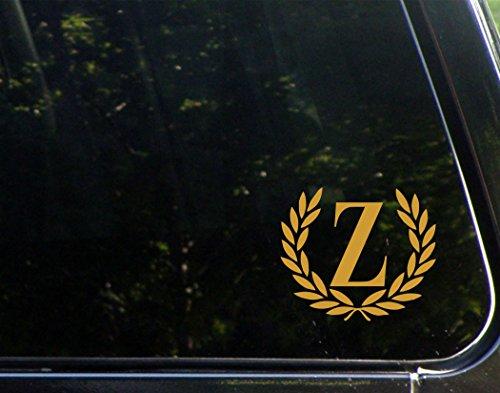 Letter Z (Gold), SMALL SIZE, Decorative Monogram - 4-1/2