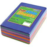 Multicraft Imports GC044B Assorted 1.5mm Foam Sheets, 4-Inch X 6-Inch, 30-Pieces