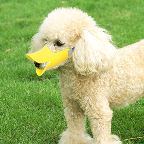 - Pawliss Anti-bite Dog Muzzle, Duck Shape Mouth Cover