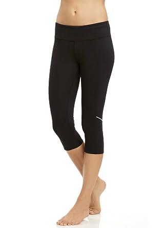 4a23cd507b8864 Marika Tek Ava Fixate Capri Leggings - Sanded Dry-WIK Fabric with Coolmax  Gusset -