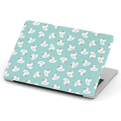 Carcasa rígida para MacBook, diseño de Patos, Color Blanco ...