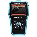 OBD2 Scanner, Topdon ABS/SRS Scanner Universal CAN OBD2 Scanner OBDII Car Computer Diagnostic Tool Car Code Reader for DIY and Professional (Topdon Elite)