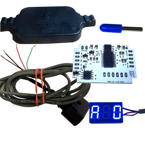 WB D1-DIY Wideband Controller and G1 LED AFR Display Kit (BLUE)