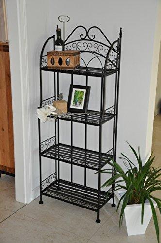 metallregal schwarz. Black Bedroom Furniture Sets. Home Design Ideas