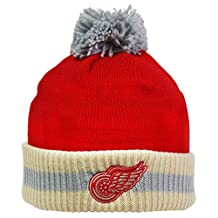 Detroit Red Wings Pom Knit Toque