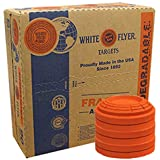 2 Cases of White Flyer Biodegradable Targets, 180 Count (YeSS Global Uses Custom Packaging to Help Stop Breakage During Shipp