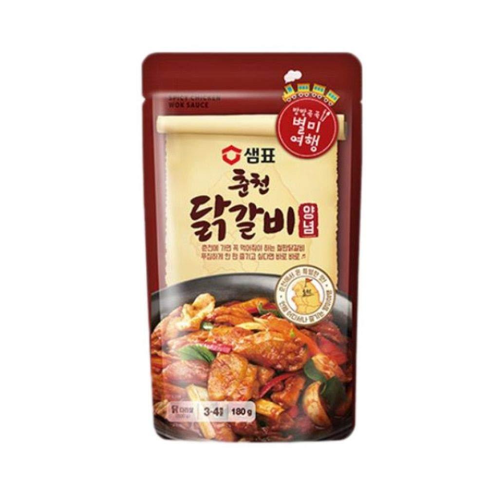 Chuncheon Chicken Ribs Sauce 180g x 3 춘천 닭갈비