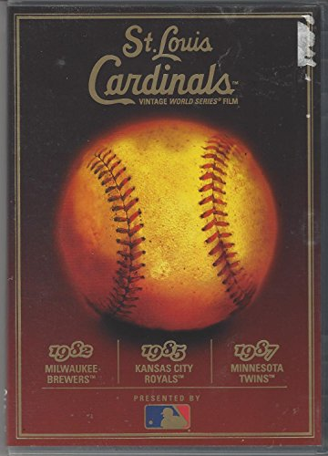 1980's St. Louis Cardinals World Series - 1982 vs. Milwaukee Brewers, 1985 vs. Kansas City Royals, 1987 vs. Minnesota Twins (Brewers Rock Milwaukee)