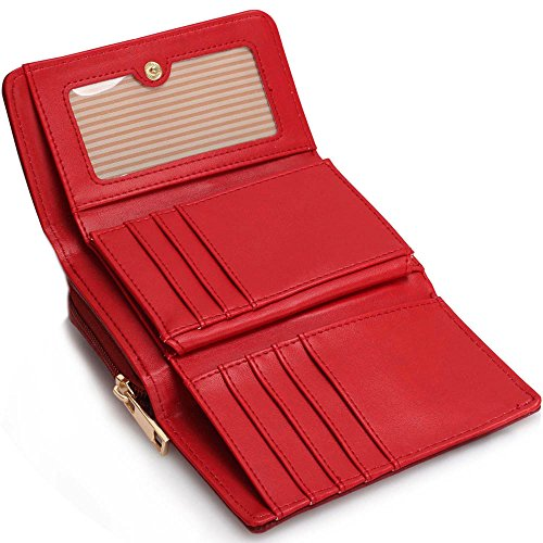 Animal Luxury Print Holder For Design 1 Owl Wallet Purses Coin Women Zipped Red Small Card Ladies BaqBwrx