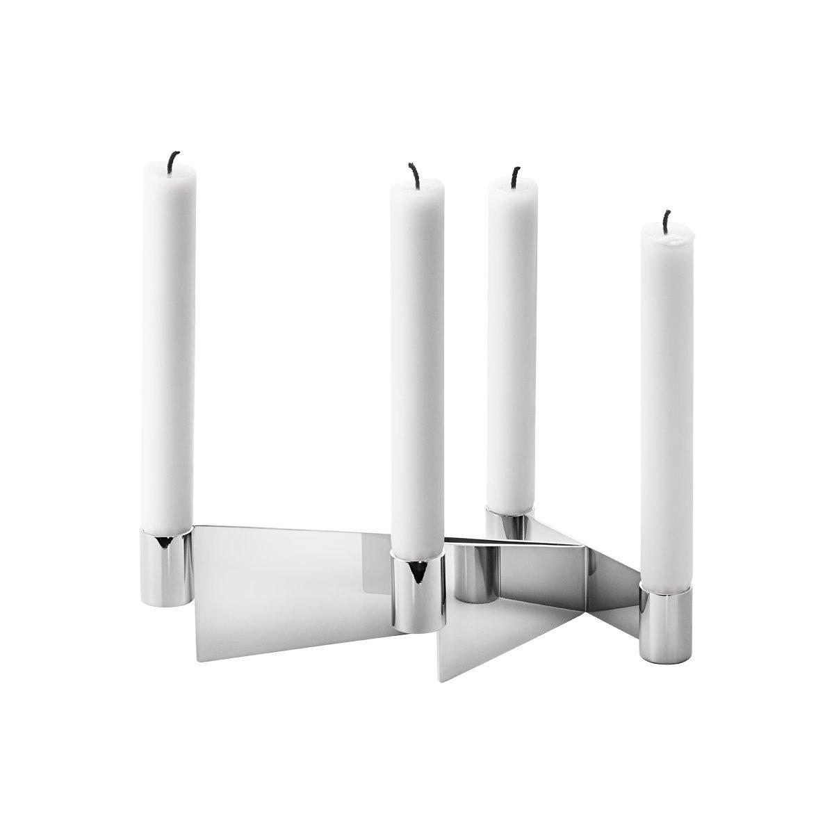 Georg Jensen URKIOLA candleholder stainless steel 3586015