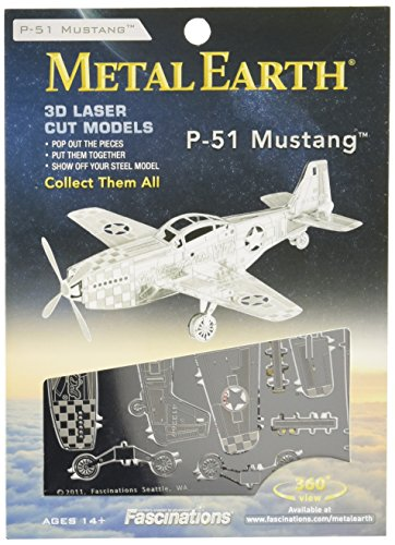 Metal Earth: Mustang P-51 for sale  Delivered anywhere in Canada