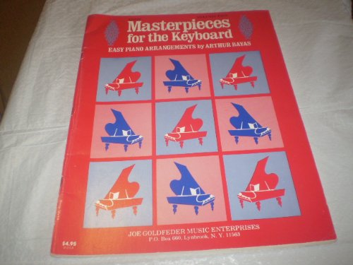 MASTERPIECES FOR THE KEYBOARD V2 ARTHUR BAYAS 1979 SONGBOOK E14