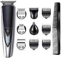 Hatteker Bartschneider Haarschneider Herren Haarschneidemaschine Haartrimmer Bartschneider Bart Trimmer Nasentrimmer...