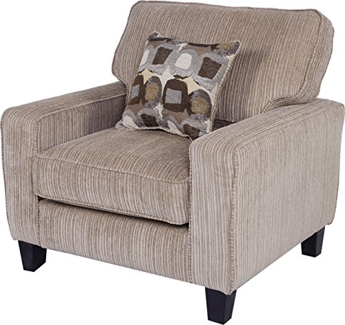Serta Palisades Collection Arm Chair in Flagstone Beige (Matching Chairs Club)