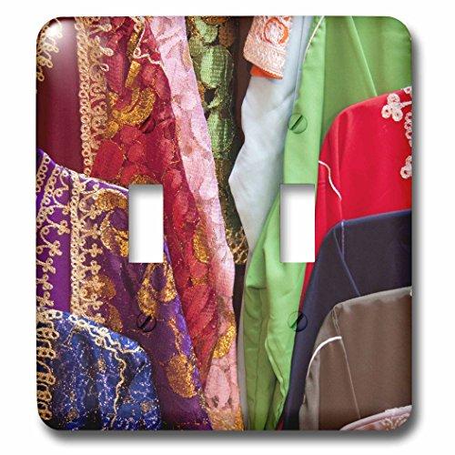 3dRose lsp_75540_2 Caftan Textiles, Fes Medina, Morocco-Af29 Wsu0201 - William Sutton - Double Toggle (Rose Caftan)