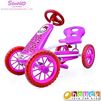 Hello Kitty Lil Turbo Pedal Go Kart Ride on