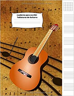 Cuaderno para escribir Tablaturas de Guitarra: Amazon.es: Gallardo ...