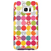 OtterBox SYMMETRY SERIES Case for Samsung Galaxy S7 Edge - Retail Packaging - GUMBALLS (WHITE/DAMSON PURPLE/GRAPHIC)