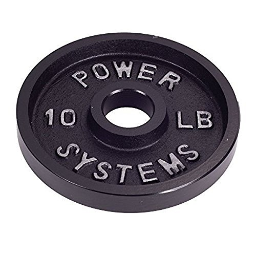 Power Systems Pro Olympic Plate Black