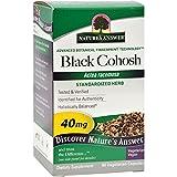 NATURE'S ANSWER BLACK COHOSH ROOT STNDRDZ, 60 VCAP, EA-1