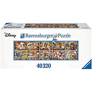Ravensburger Mickey Through The Years 40,320 Piece Jigsaw Puzzle – World's Largest Mickey Puzzle – Mickey 90th…