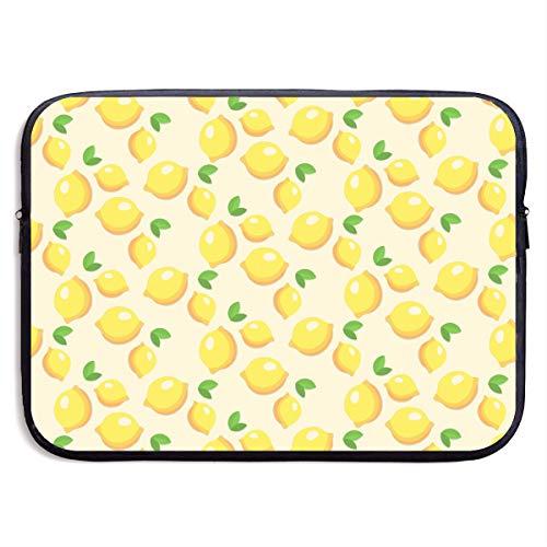 5cb2f9af20c0 Lovesofun Fruit Lemons Seamless Art Waterproof Neoprene Laptop Sleeve Case  - Portable Business Notebook Liner Protective Bag for MacBook Pro/MacBook  ...
