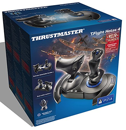 3 opinioni per Thrustmaster T Flight Hotas PS4 War Thunder Starter Pack- PS4/PC