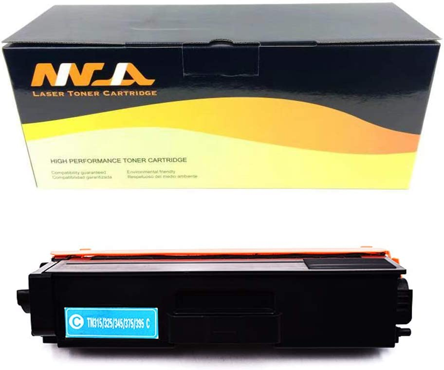 Ninjatoner Compatible Toner Cartridge Replacement for Brother TN315 TN-315 HL-4150CDN HL-4570CDW HL-4570CDWT HL-4140CN MFC-9560CDW MFC-9970CDW MFC-9460CDN Cyan, 1 Pack