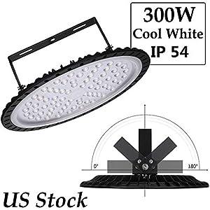 100w.150w,200w,250w,300w UFO LED High Bay Lighting, chunnuan,6000-6500K,IP54,Waterproof Dust Proof, Warehouse LED Lights- LED High Bay Lighting - High Bay LED Lights by chunnuan