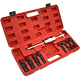 XtremepowerUS 9pc Blind Hole Bearing Gear Puller Removal Kit