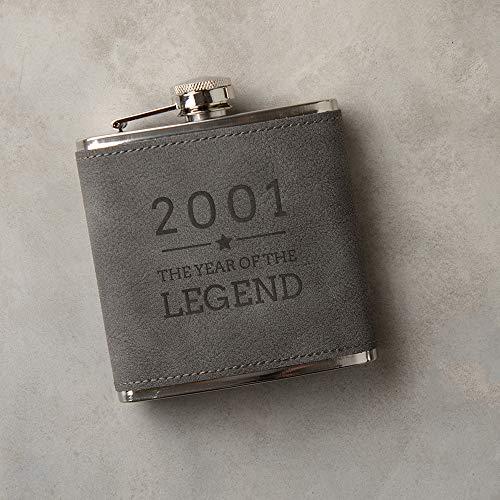 Engraved Hip Flask -