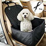 Ewolee Pet Front Seat Cover for Cars,Dog Car Seat Hammock With Waterproof