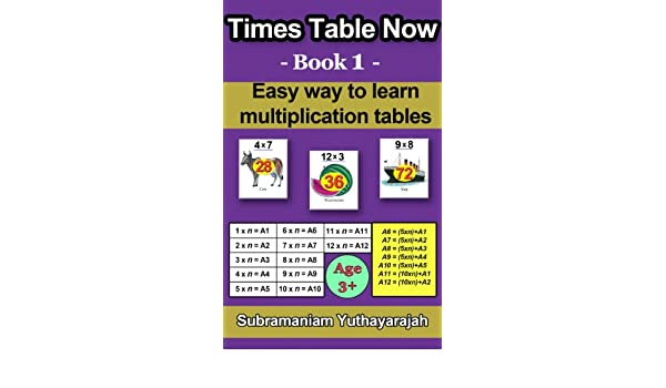 Amazon Times Table Now Easy Way To Learn Multiplication Tables