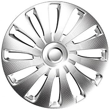 j-tec 4pc set Wheel Trims Covers Hub Caps Sepang Carbon (15 inch ...