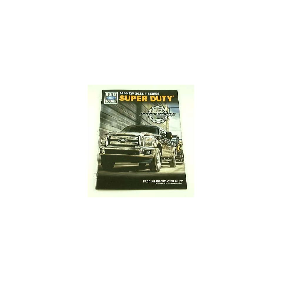 2011 11 Ford SUPER DUTY Pickup Truck BROCHURE CATALOG