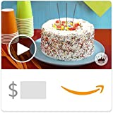 Amazon eGift Card - Birthday Cake (Animated) [Hallmark]