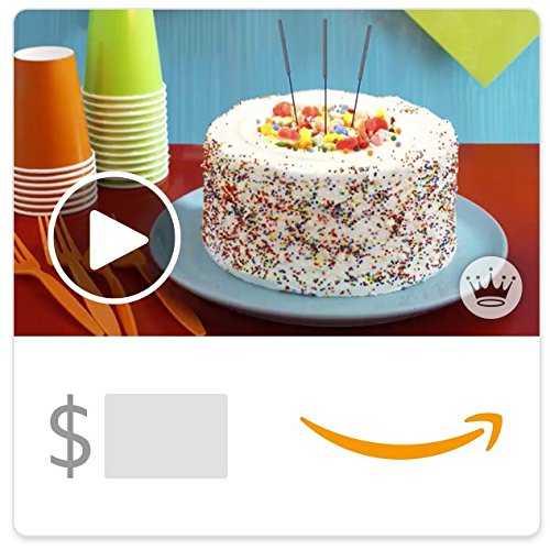 Large Product Image of Amazon eGift Card - Birthday Cake (Animated) [Hallmark]