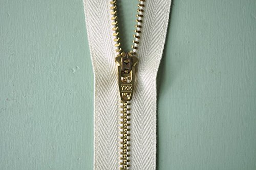 Organic Cotton Zipper Brass Teeth product image