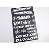 Yamaha Stickers Decals 30x20cm vinyl with extra protection on top (Black)