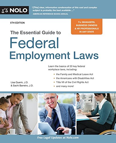 Nolos Essential Guide (Essential Guide to Federal Employment Laws)