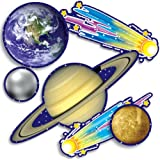 Scholastic TF3289 Solar System Accent Punch-Outs