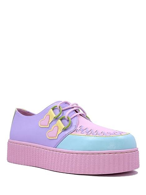 Amazon.com: Strange cvlt y.r.u. Krypt Pastel Creeper zapatos ...