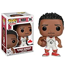 Funko Pop! Sports: NBA-DeMAR DeROZAN Figures, One Size, Multicolor
