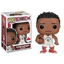 Funko Pop! Sports: NBA-DeMAR DeRozan Figures, One Size, Multicolor