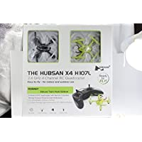Hubsan X4 2.4 GHz 4 Channel RC Quadcopter Deluxe Twin Pack Edition Easy-to-fly for Indoor and Outdoor Use Classic Black & Neon Green