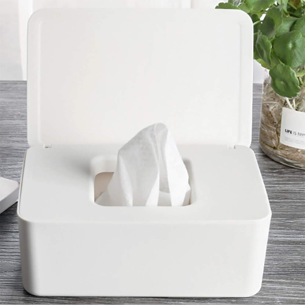 TONGXU Caja de Toallitas H/úmedas para Beb/é Caja de Desinfecci/ón Multifuncional PP Caja de Pa/ñuelos de Papel de Estilo Japon/és