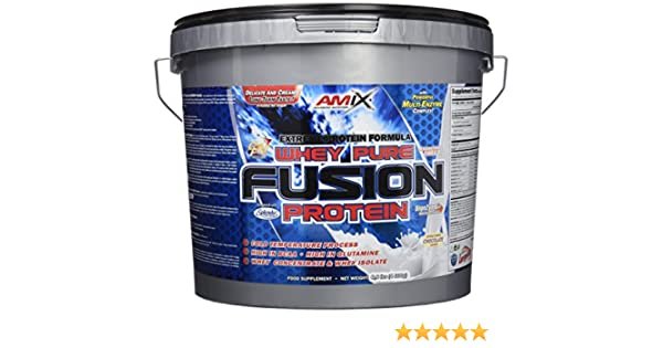 Amix Whey Pure Fusion 4 kg Doble chocolate blanco