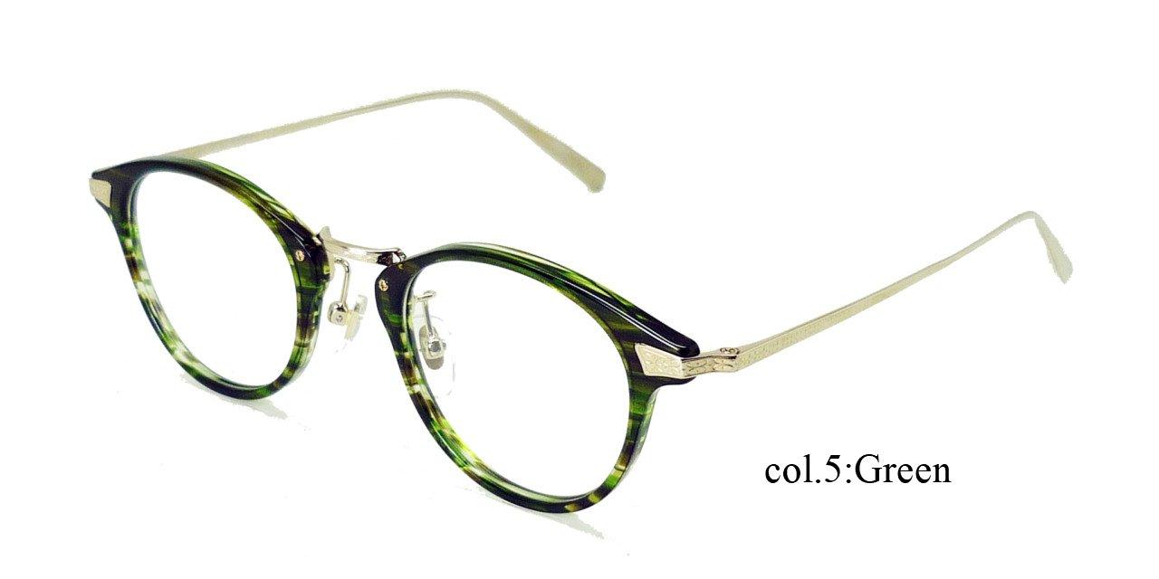 越前國 甚六作 EZ-005 RICESTONE ライスストーン 日本製 鯖江 職人の眼鏡 メガネ フレーム 度付き対応 B07D9F1TGC (度入り)薄型1.67非球面レンズ付き|05 5 (度入り)薄型1.67非球面レンズ付き